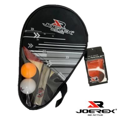凡太奇  JOEREX 三星長柄雙反膠乒乓拍/桌球拍套裝 JTB301B - 速