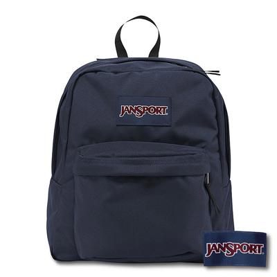 JanSport -SPRING BREAK系列後背包 -深藍