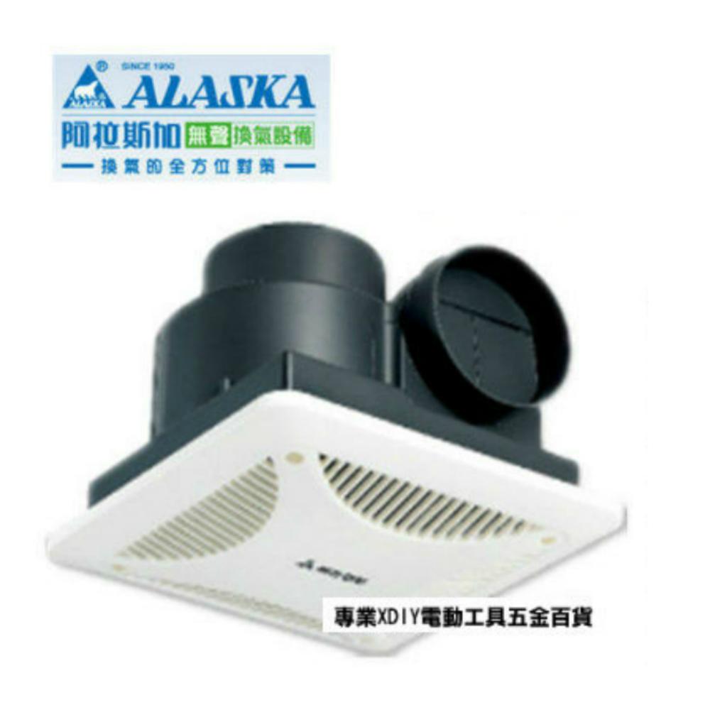 ALASKA 阿拉斯加 小風地258 110V 浴室抽風機