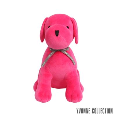 Yvonne Collection 旺旺坐姿狗玩偶-桃粉