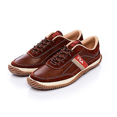 FILA Urban Casual 男款休閒鞋-咖啡 1-C607S-721