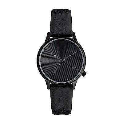 KOMONO Estelle Deco 腕錶-瑪瑙黑/ 36 mm