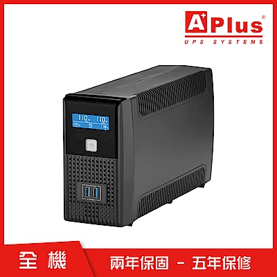 特優Aplus 在線互動式UPS Plus1L-US800N(800VA/480W)