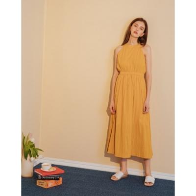 Shester55-微甜收腰長版洋裝(兩色)-女【TSH151】