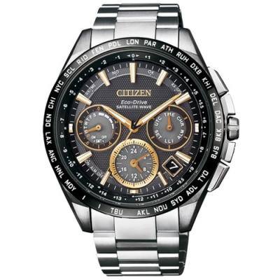 CITIZEN Eco-Drive 宇宙航道衛星對時腕錶-CC9015-54F-45mm