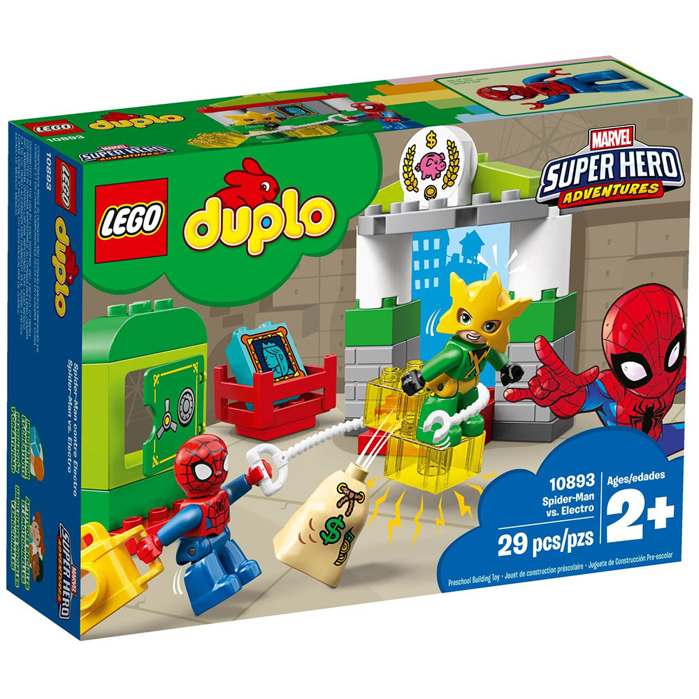 樂高LEGO Duplo 幼兒系列 - LT10893 Spider-Man vs. El