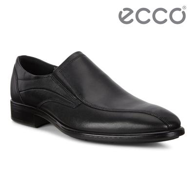 ECCO CITYTRAY 適途商務正裝皮鞋 男鞋 黑色