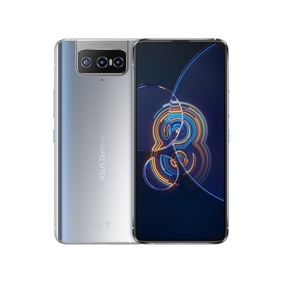 ASUS ZenFone 8 Flip (8G/128G) 6.67吋 翻轉鏡頭智慧型手機 - 流光銀