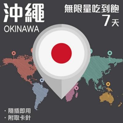【PEKO】沖繩上網卡 7日高速4G上網 無限量吃到飽 優良品質高評價