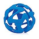 Nuby 矽膠咬咬球-藍色(3M+)