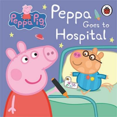 Peppa Pig:Peppa Goes To Hospital 佩佩豬探病去精裝硬頁書