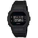 G-SHOCK 個性霧面數位休閒錶(DW-5600BB-1)-黑/48.9mm