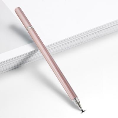 DW DP34玫瑰金 精緻雙用款精緻書寫電容式細字觸控筆(一組2入)