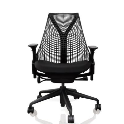Herman Miller SAYL全功能人體工學電腦椅(時尚旗艦款)黑背黑椅墊