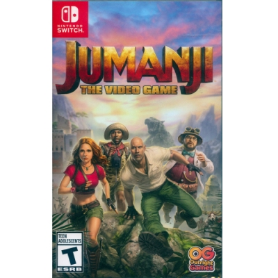 野蠻遊戲:瘋狂叢林 Jumanji:The Video Game - NS Switch 中英日文美版