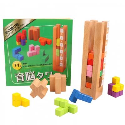 日本Ed-Inter - 益智桌遊系列(益智積木塔)