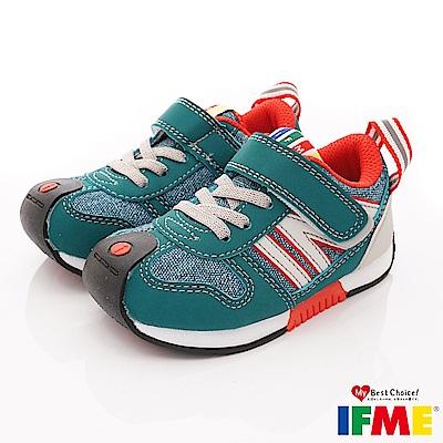 IFME健康機能鞋 超輕運動款 EI71111綠 (小童段)
