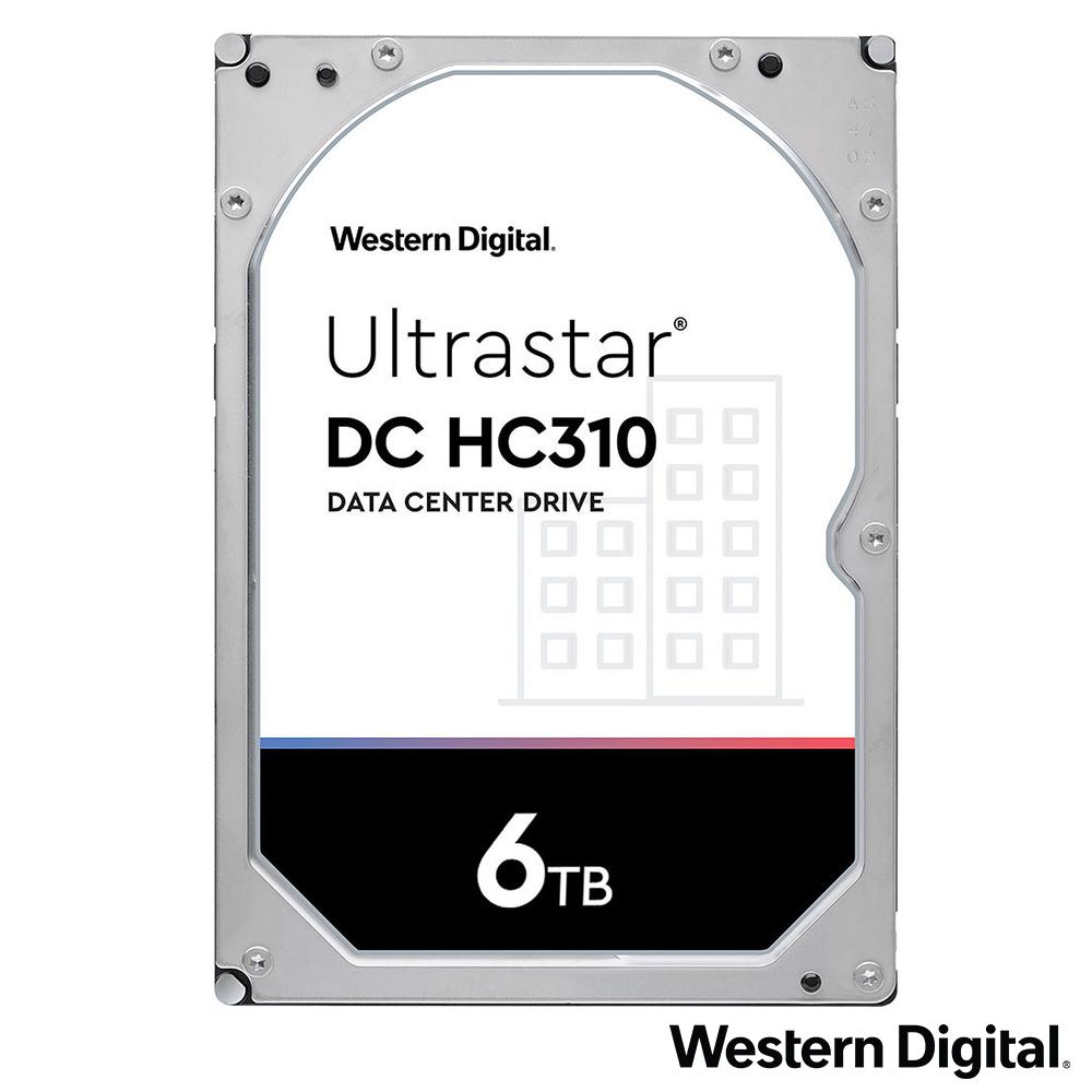 WD Ultrastar DC HC310 6TB 3.5吋企業級硬碟
