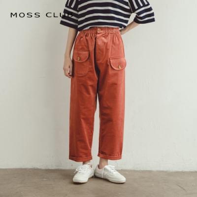 MOSS CLUB MIT製造條絨-直筒褲三色