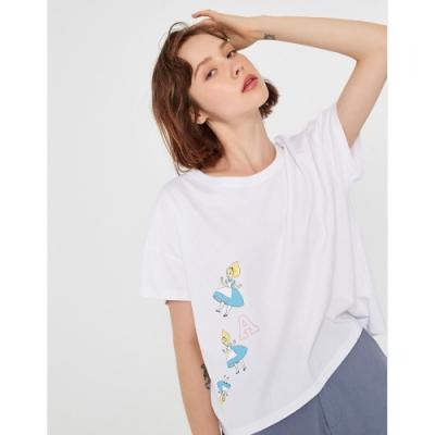 CACO-MIT 愛麗絲夢遊短上衣-女【TDI130】