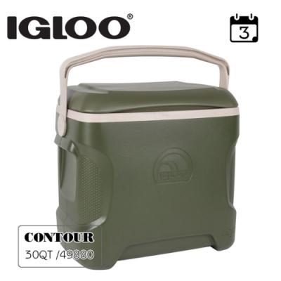 IgLoo  CONTOUR系列30QT冰桶49880   軍綠色