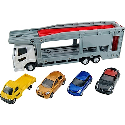 任選TOMICA 新TM汽車運輸車TM42324 多美小汽車