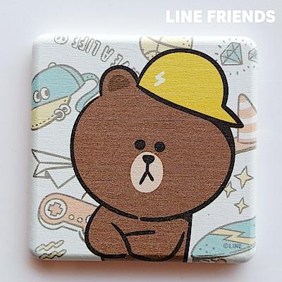 LINE FRIENDS熊大×熊妹×兔兔×莎莉×愛德華珪藻土杯墊10款任選