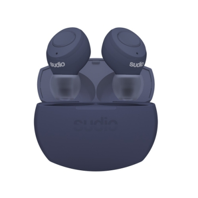 SUDIO Tolv R 真無線藍牙耳道式耳機 - 藍色