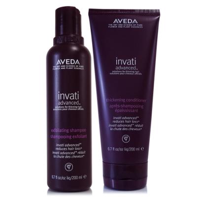 AVEDA 蘊活菁華洗髮精200ml(升級版)+潤髮乳200ml(升級版)
