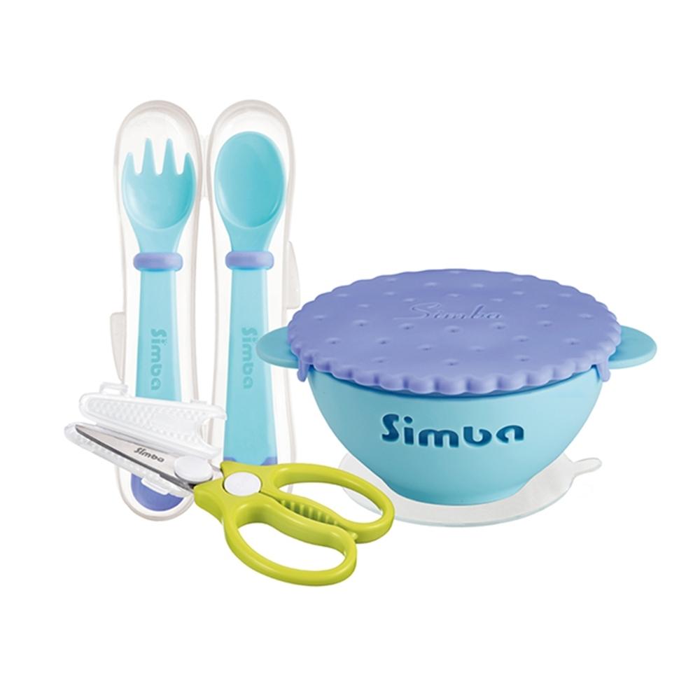 小獅王辛巴 優格美味曲奇餐具用餐必備三件組