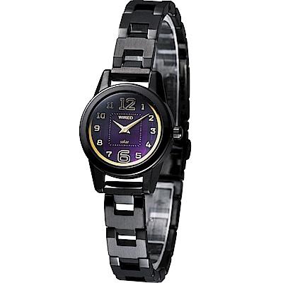 WIRED-f 繽紛時尚太陽能腕錶(ACD003X)