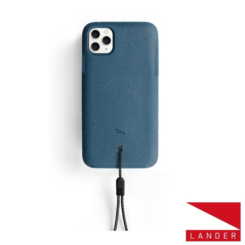 美國 Lander iPhone 11 Pro Moab 防摔手機保護殼-海洋藍(附手繩)
