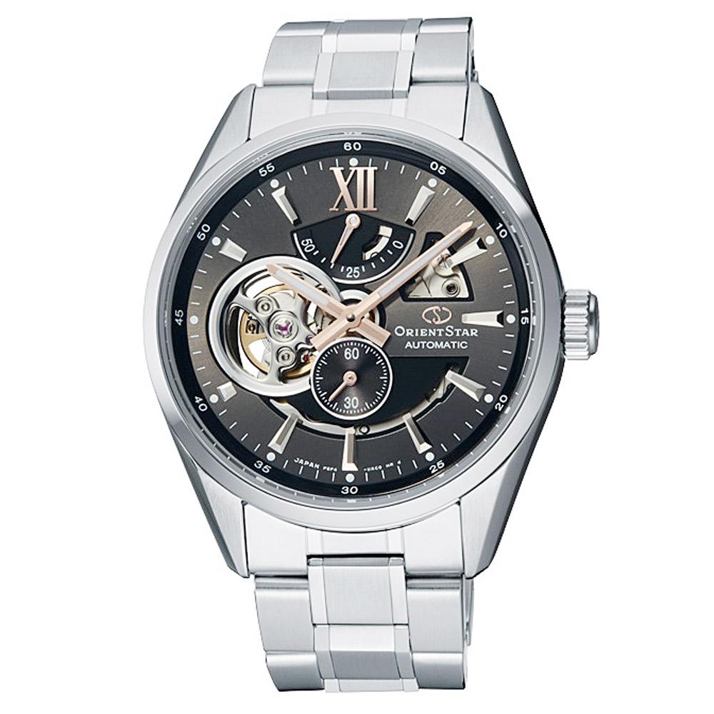 ORIENT STAR 東方之星機械錶手錶 RE-AV0004N-灰X銀/41mm