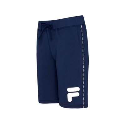 FILA #LINEA ITALIA 針織短褲-丈青 1SHT-5404-NV