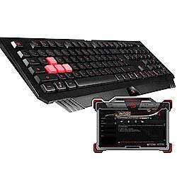 A4雙飛燕 Bloody B120 TURBO連環招防水背光電競鍵盤