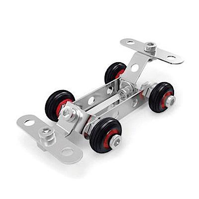 ZEYE-益智金屬積木-賽車(組裝模型)