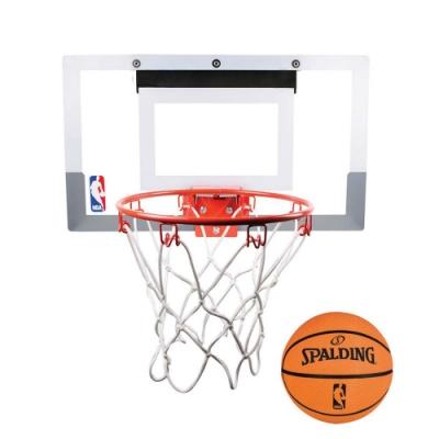 SPALDING NBA室內小籃板 白橘