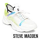 STEVE MADDEN-APEX LOGO增高休閒鞋-紋白色