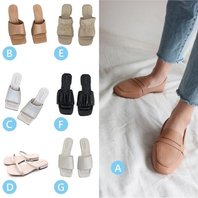 時時樂限定-RUNA-正韓來台-淑女外出夏日必備百搭多樣式鞋款