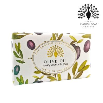The English Soap Company 乳木果油復古香氛皂-復古橄欖 Vintage Olive Oil 190g