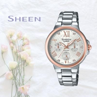 CASIO卡西歐 奢華淑女腕錶(SHE-3511SG-7A)