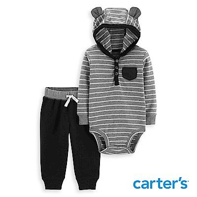 Carter's 條紋小熊二件組套裝