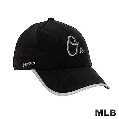 MLB-金鶯電繡LOGO可調式棒球帽 (男)