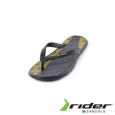 Rider INK系列人字夾腳拖鞋(男款)-黃黑
