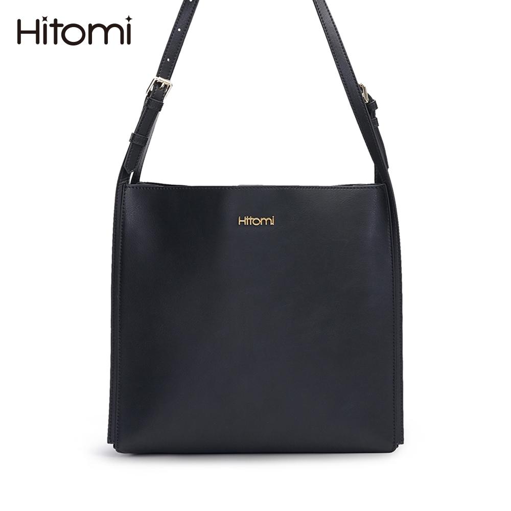 【Hitomi】英倫文藝肩背/斜背/雙肩包(夏洛克黑色12203BK)