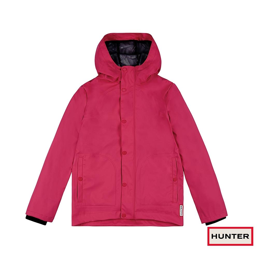 HUNTER - 大童 - 輕量橡膠外套 - 粉