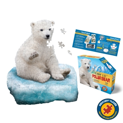 【I AM 拼圖】我是北極熊 - 100 系列