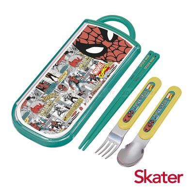 Skater三件式餐具組-蜘蛛人