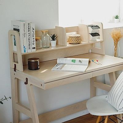 完美主義 SHU木作質感移動式書架/桌上架/桌上書架(2色)