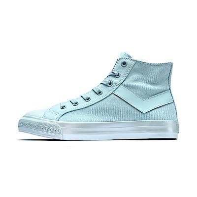 【PONY】Shooter系列珍珠光感鞋面帆布鞋 女鞋 愛麗絲藍